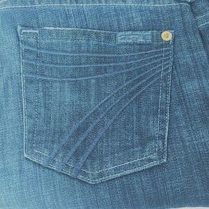 7 FAM | Dojo Flare leg Dark wash jeans